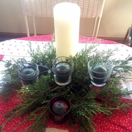 carol h advent wreath