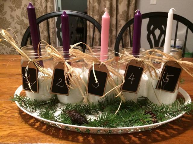 nicole t advent wreath
